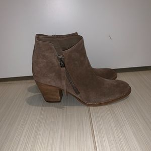 Sam Edelman Packer Ankle Bootie (Brown/Tan)